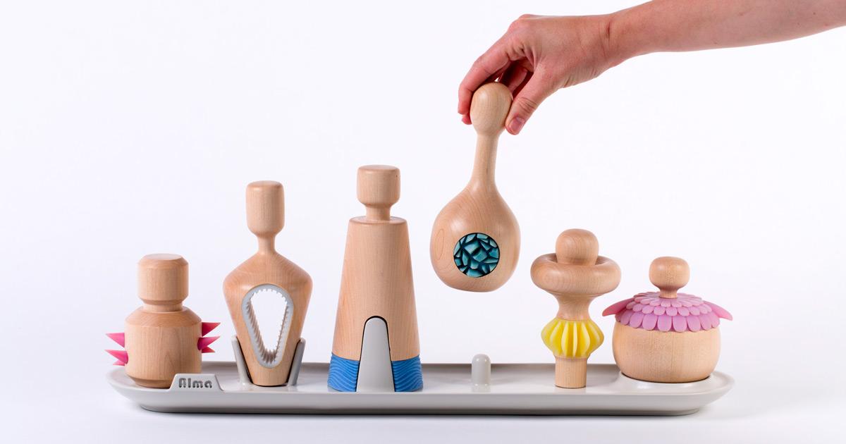 Conjunto de 6 brinquedos que envolve as crianças no processamento de suas emoções