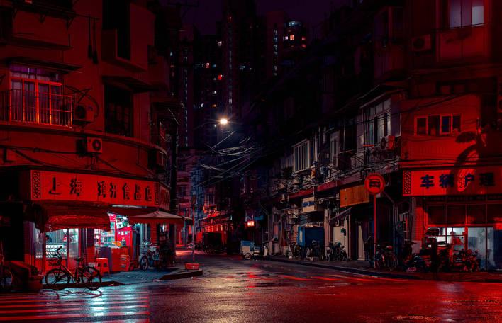 """""""Shangai Streets"""", série mergulha no coração de bairros autênticos de Xangai à noite"""