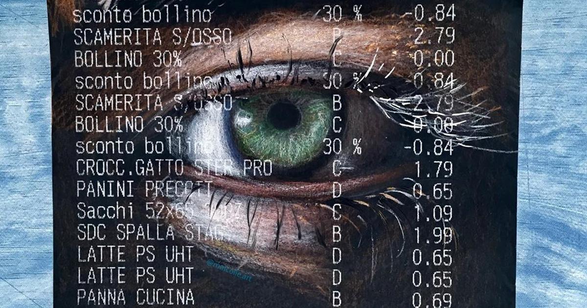 101 Doodles Surpreendentes Em Recibos De Compras De Um Artista Italiano