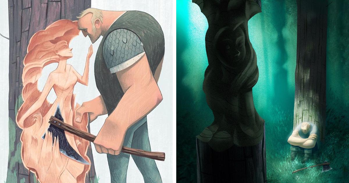 Artista conta uma história sincera sobre perda através de suas 12 ilustrações