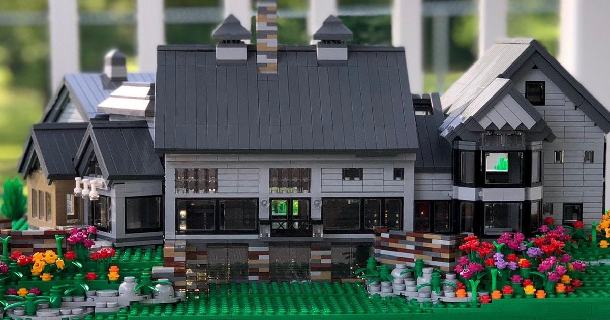 Agora Você Pode Comprar Uma Réplica Da Sua Casa Construída De LEGO