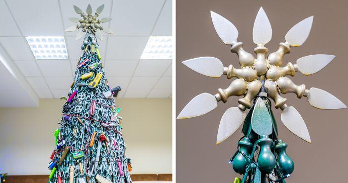 Este Aeroporto Fez Uma Árvore De Natal Apenas Com Itens Confiscados
