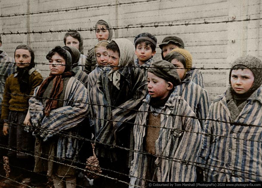 10 Fotografias Coloridas Que Mostram O Verdadeiro Horror Do Holocausto
