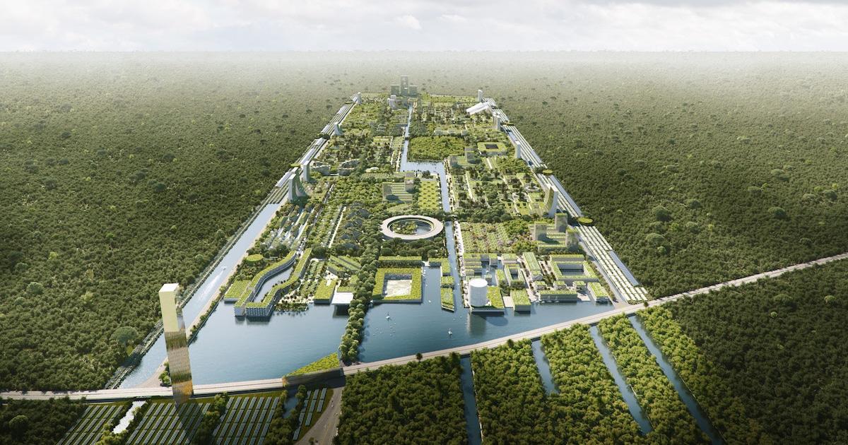 Nova Cidade Inteligente Em Cancún Vai Ter Mais De 7 Milhões De Plantas