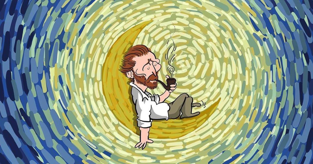 60 Ilustrações Da Vida De Van Gogh Que Mostram Sua História E Suas Pinturas