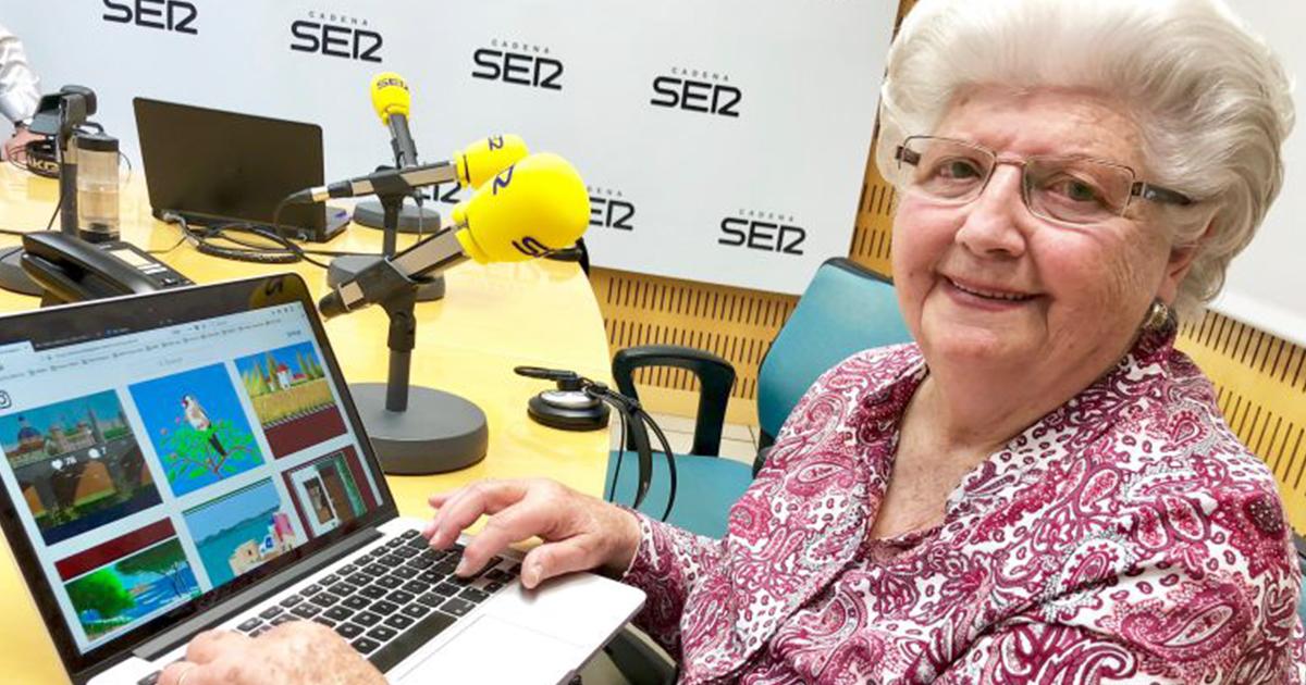 Esta Avó De 87 Anos Usa O Microsoft Paint De Uma Maneira Que Vai Te Surpreender