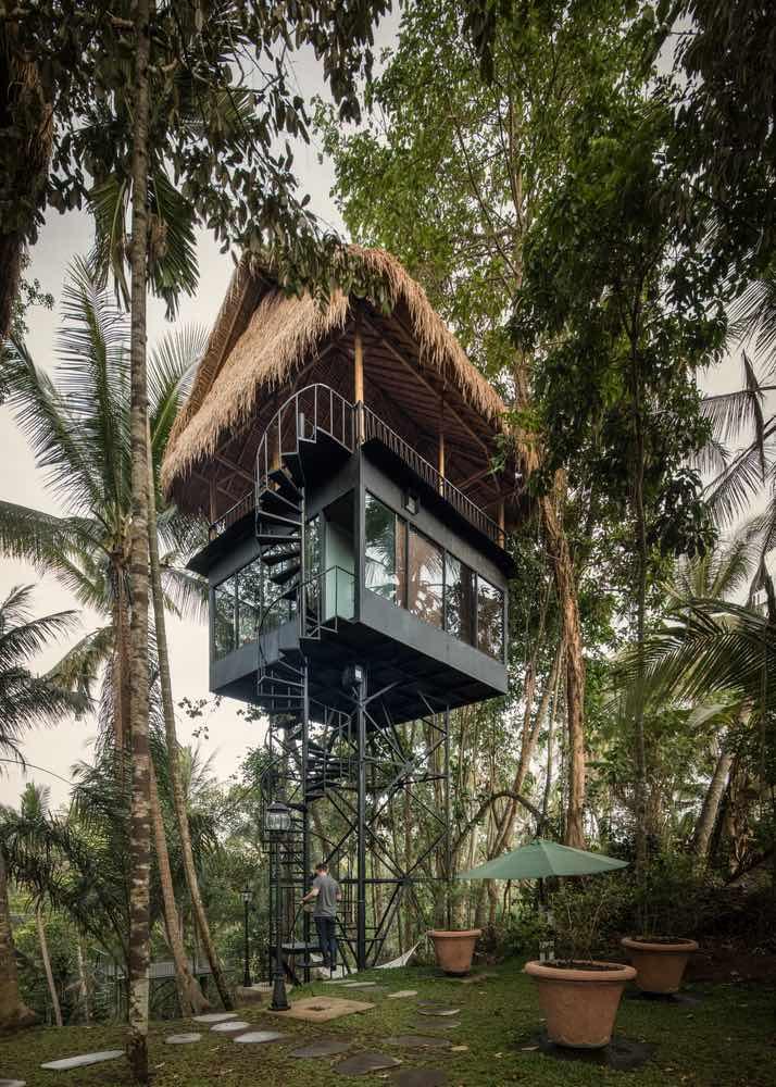 Este Hotel Parece Um Paraíso E Seus Quartos São Na Verdade Casas Na Árvore