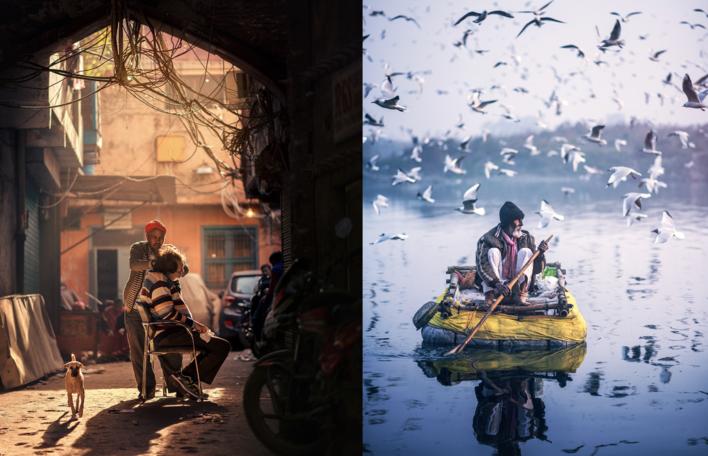 10 Fotografias Impressionantes E Imersivas Das Ruas De Deli Na Índia