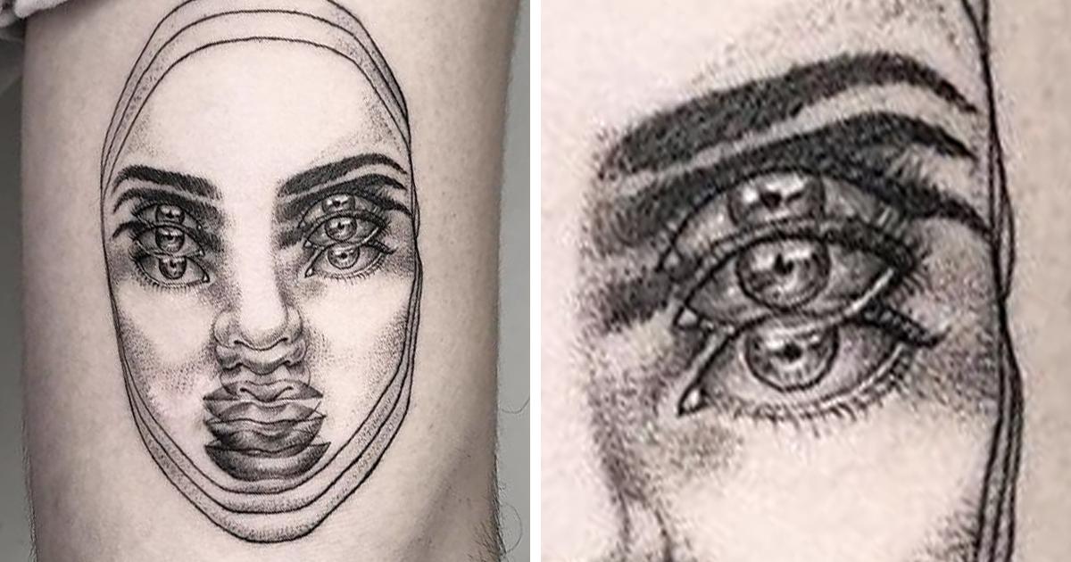 Conheça As Tatuagens De Visão Dupla Deste Talentoso Tatuador Mexicano
