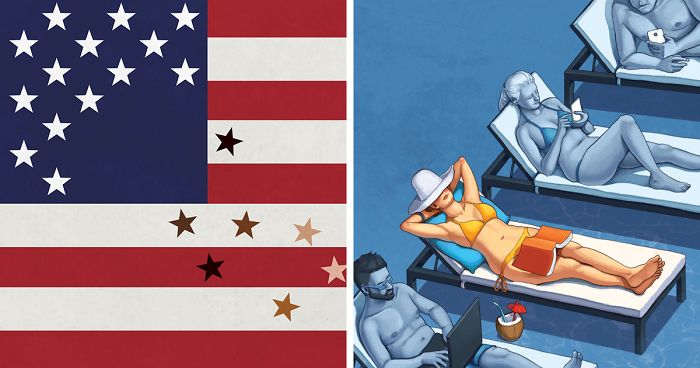 40 Ilustrações Que Mostram O Que Há De Errado Com Nossa Sociedade