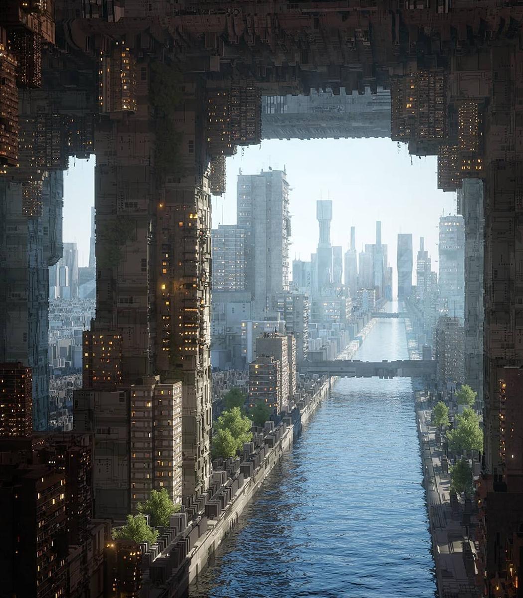 10 Renderizações De Projetos Arquitetônicos Que Nos Permitem Vislumbrar O Futuro Da Humanidade