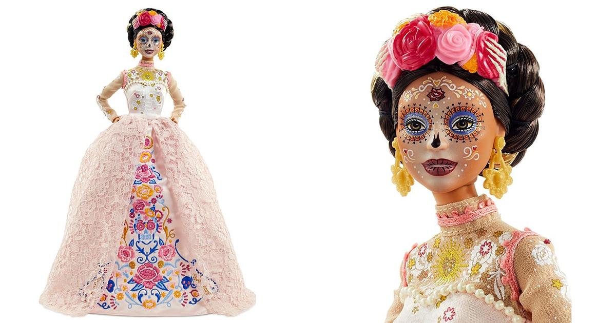 """Mattel Lança Barbie Do """"Dia dos Mortos"""" Para Comemorar O Feriado Do México"""