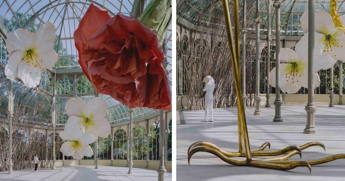 Conheça A Magnífica Exposição Do Mundo Mágico Das Flores Gigantes