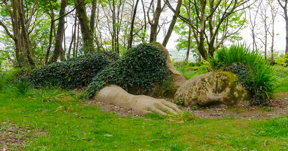 Este Jardim Inglês Tem Esculturas Vivas Incríveis Que Mudam Com As Estações