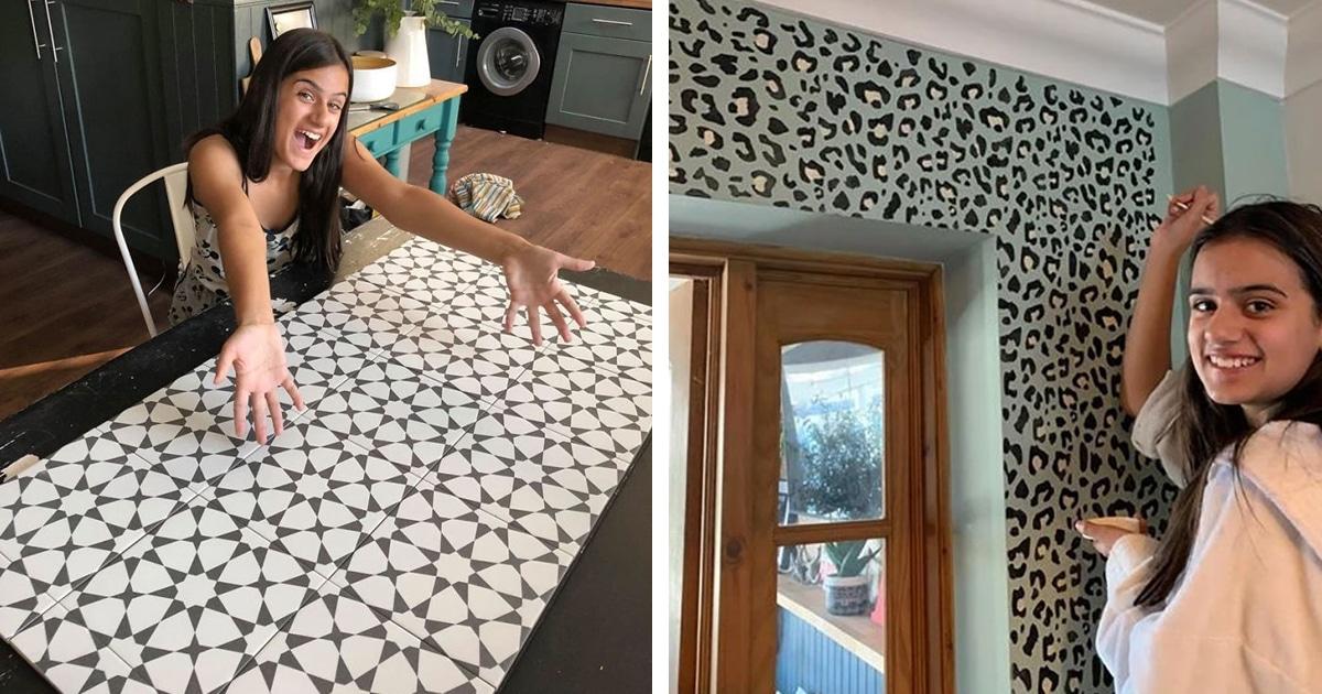 Menina De 12 Anos Renova A Casa De Sua Família Com Um Baixo Orçamento