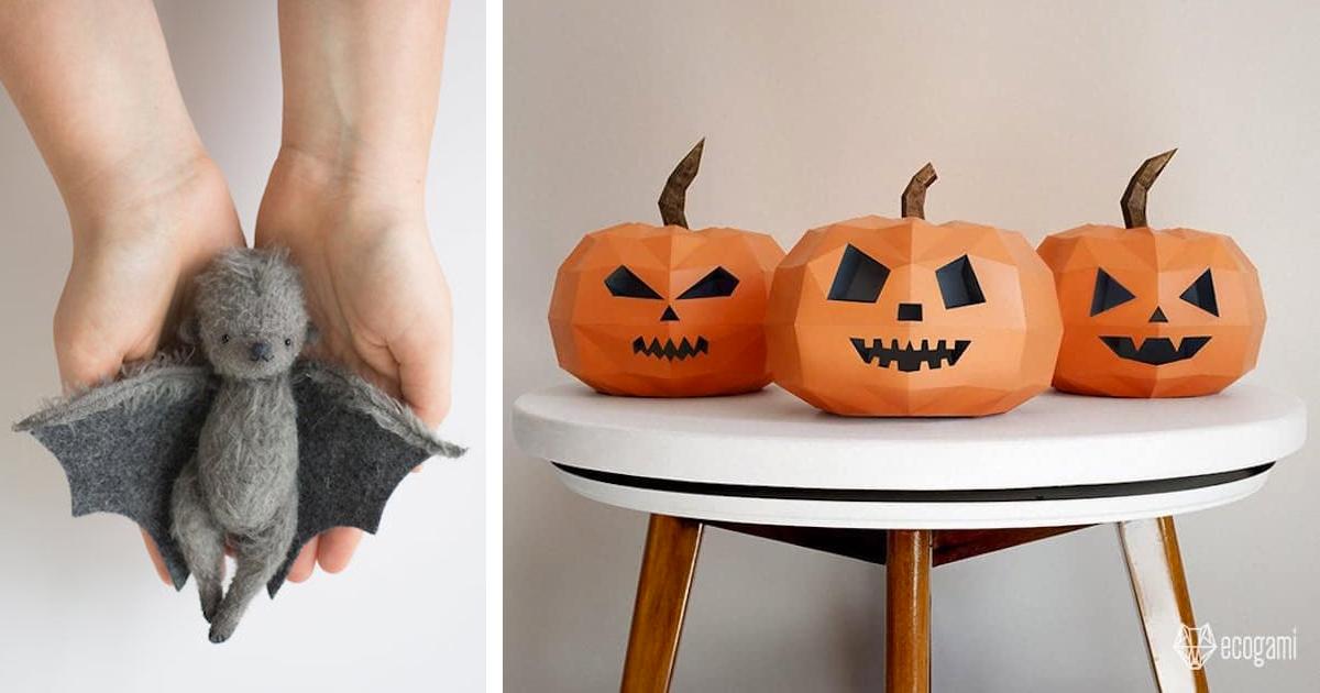 28 Artesanatos Assustadoramente Divertidos Para O Halloween