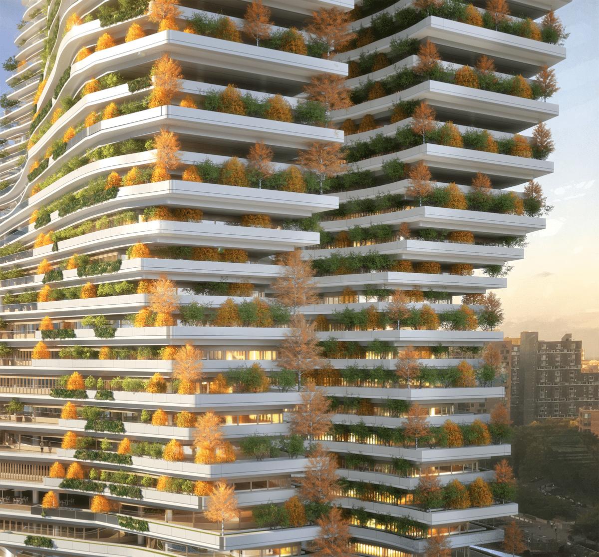 Arquitetos Propõem A Torre Mais Alta Do Mundo Que Reduzirá A Quantidade De Carbono No Ar