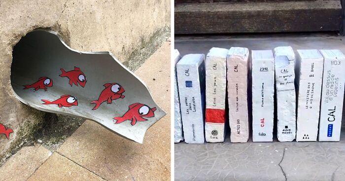 30 Ações Geniais De Vandalismo Deste Artista Francês