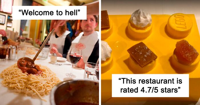 30 Pessoas Que Receberam As Comidas Mais Ridículas De Restaurantes