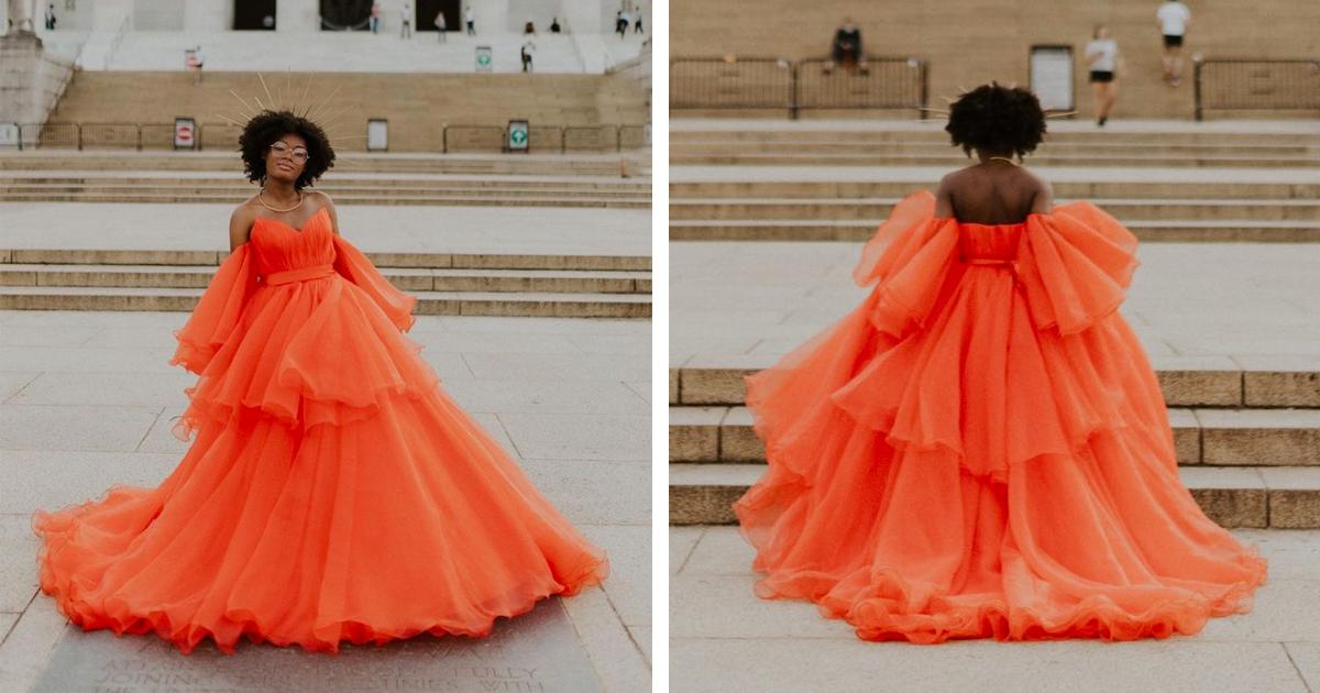 Garota Perde Baile De Formatura Devido A Covid E Ganha Uma Sessão De Fotos Deslumbrante