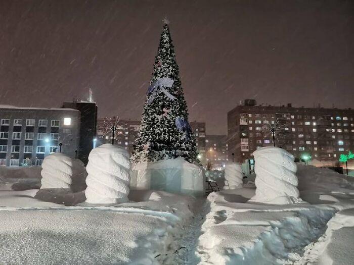 Cidade Na Rússia Recebe Dois Meses De Neve Em Apenas 5 Dias E As Fotos Parecem Surreais