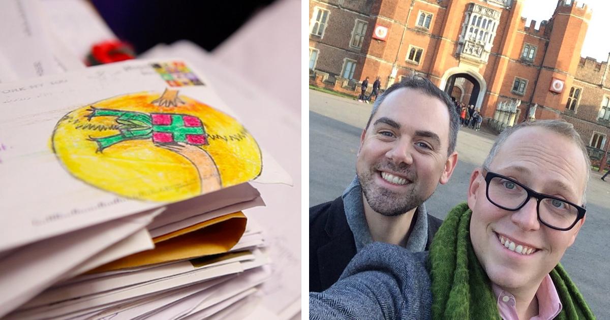 Estes Homens Receberam Cartas Para O Papai Noel De Crianças E Responderam Todas Elas