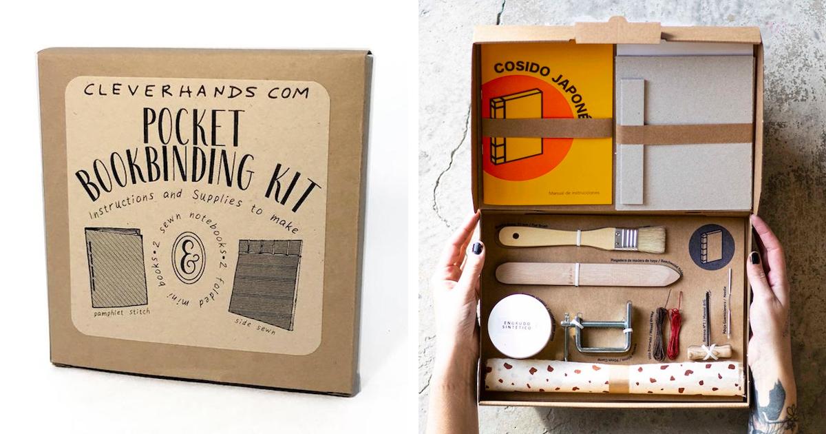 11 Kits De Encadernação Que Permitirão Que Você Crie Deus Próprios Livros