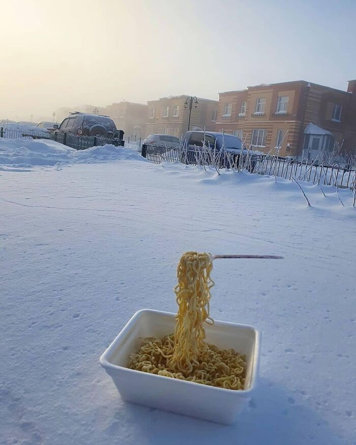 30 Fotos Que Mostram O Quão Assustador Está O Frio Na Rússia