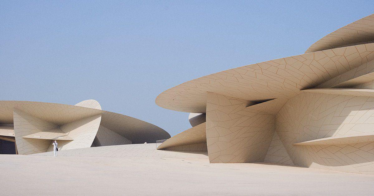 Conheça A Beleza Abstrata Do Museu Nacional Do Qatar