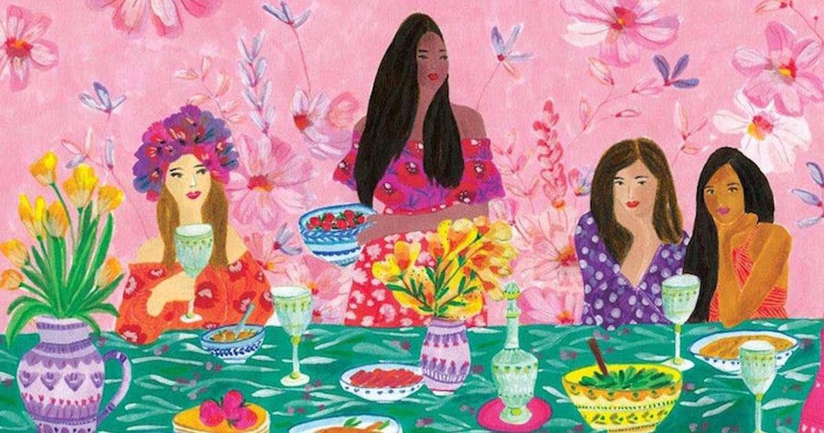 18 Ilustrações Vibrantes Celebram A Beleza Das Amizades Femininas