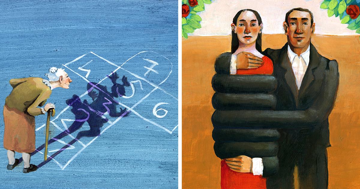 45 Ilustrações Surreais Sobre Nossa Sociedade