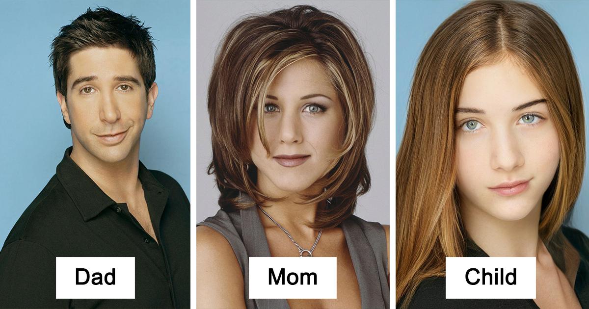 24 Imagens De Como Seriam Os Filhos De Casais Famosos Fictícios