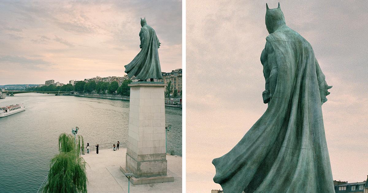 Monumentos Famosos De Paris Transformados Em Personagens Da Cultura Pop