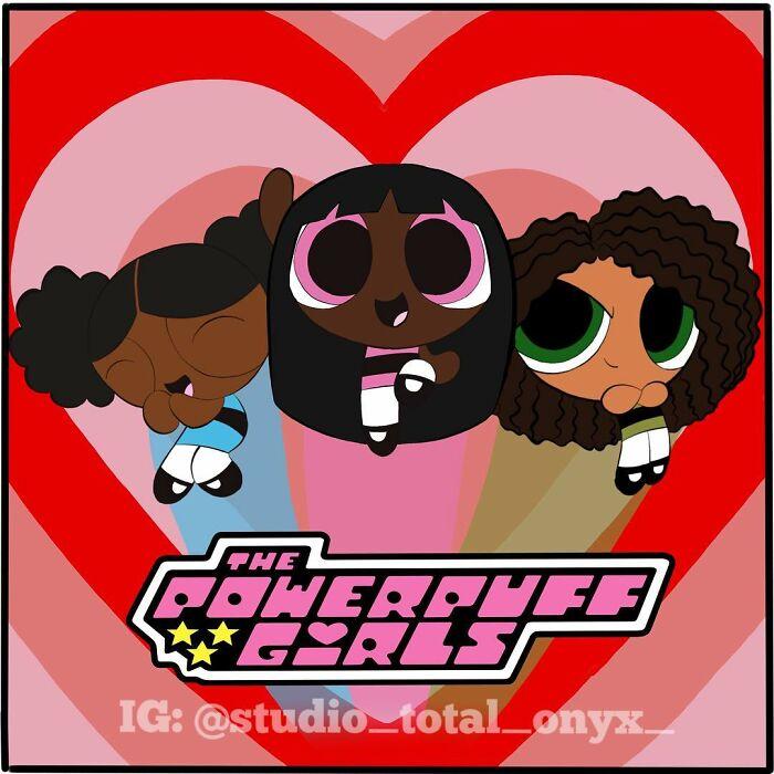 30 Desenhos Animados Famosos Reimaginados Com Personagens Negros