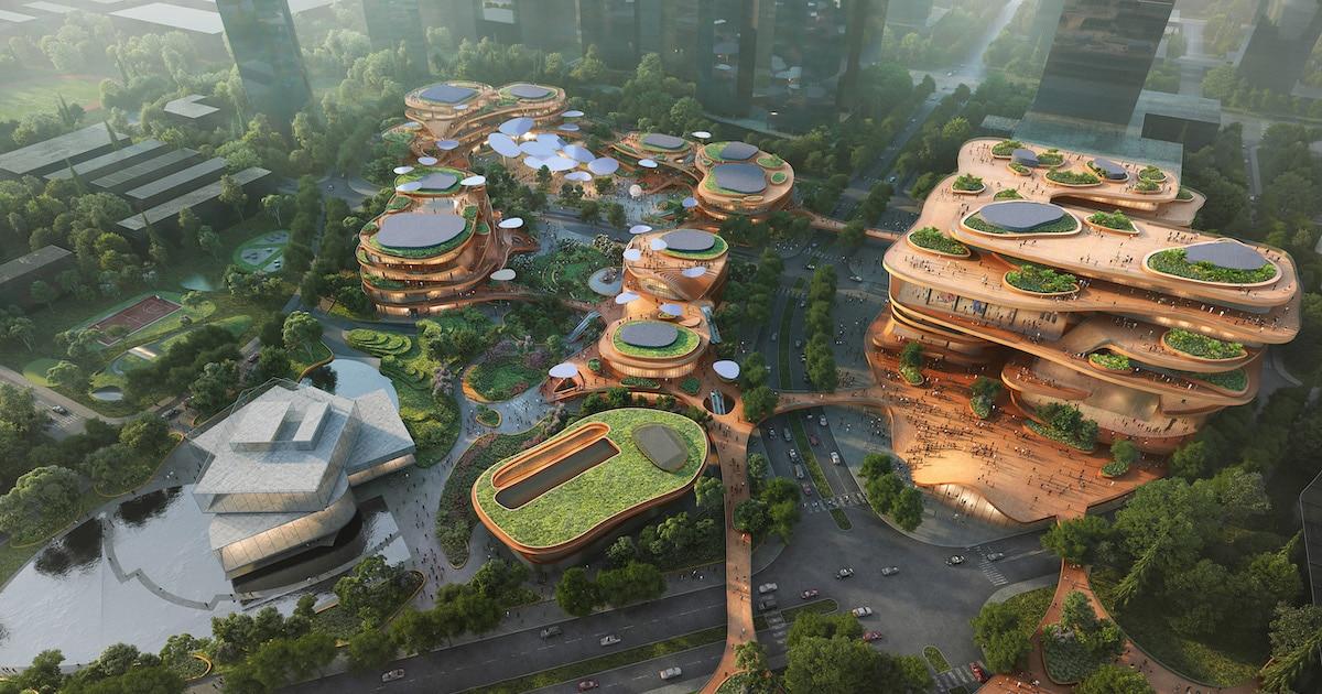 Shenzhen Terraces: A Cidade Em Forma De Parque