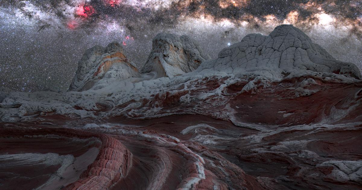 13 Fotos Brilhantes Da Via Láctea Parecendo Até Um Planeta Alienígena
