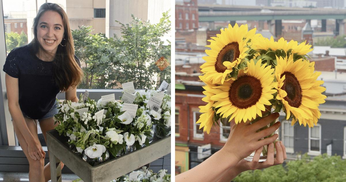 Mulher Coleta Flores Em Casamentos De Estranhos E O Motivo É Inacreditável
