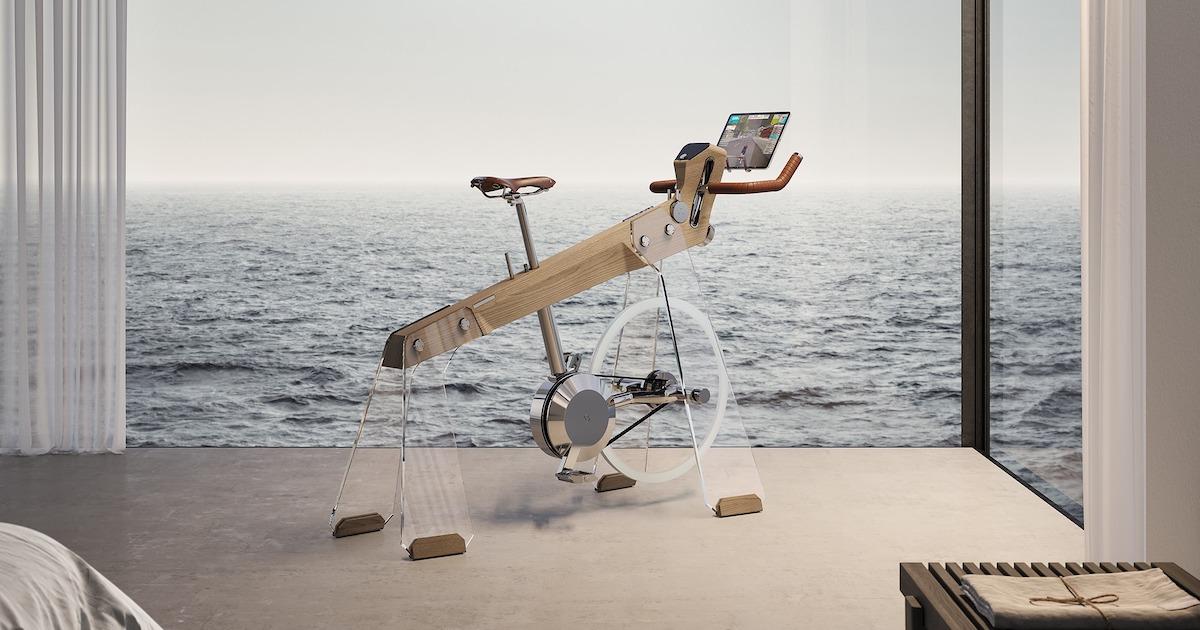 Esta Elegante Bicicleta Ergométrica Parece Uma Escultura Minimalista