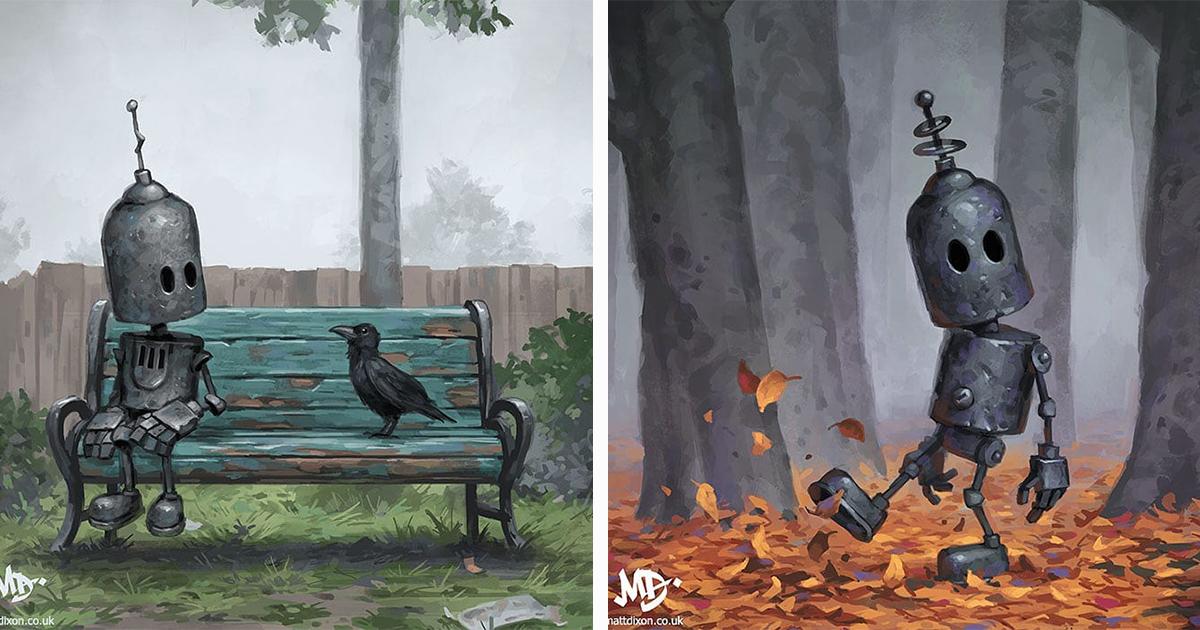 Estas 17 Ilustrações Cativantes Te Convidam A Criar Uma História