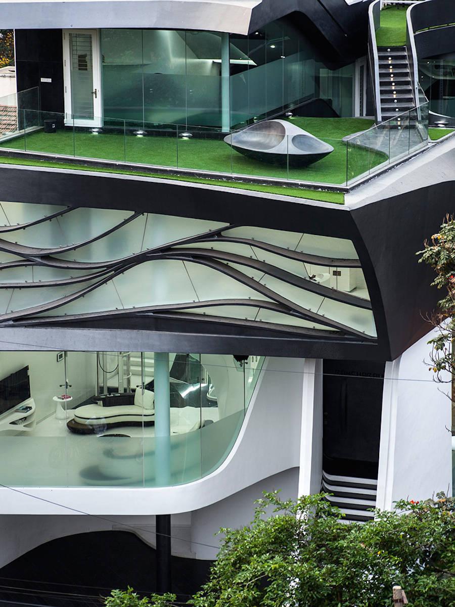 Veja As Fotos Desta Casa Futurista Que Parece Estar