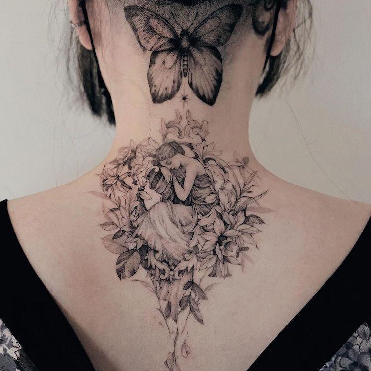 Tatuagens Delicadas Inspiradas Na Natureza Deste Tatuador Sul Coreano
